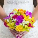 Dress Designer:Allure BridalsfromAshley's Bridal  Floral Designer:Sunya Flowers & Plants