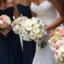 Dress Designer:Anna Maier/Ulla-MaijafromJoan Pillow Bridal  Bridesmaid Dresses:Jasmine BridalfromWedding Angels Bridal Boutique  Floral Designer:Unique Floral Expressions