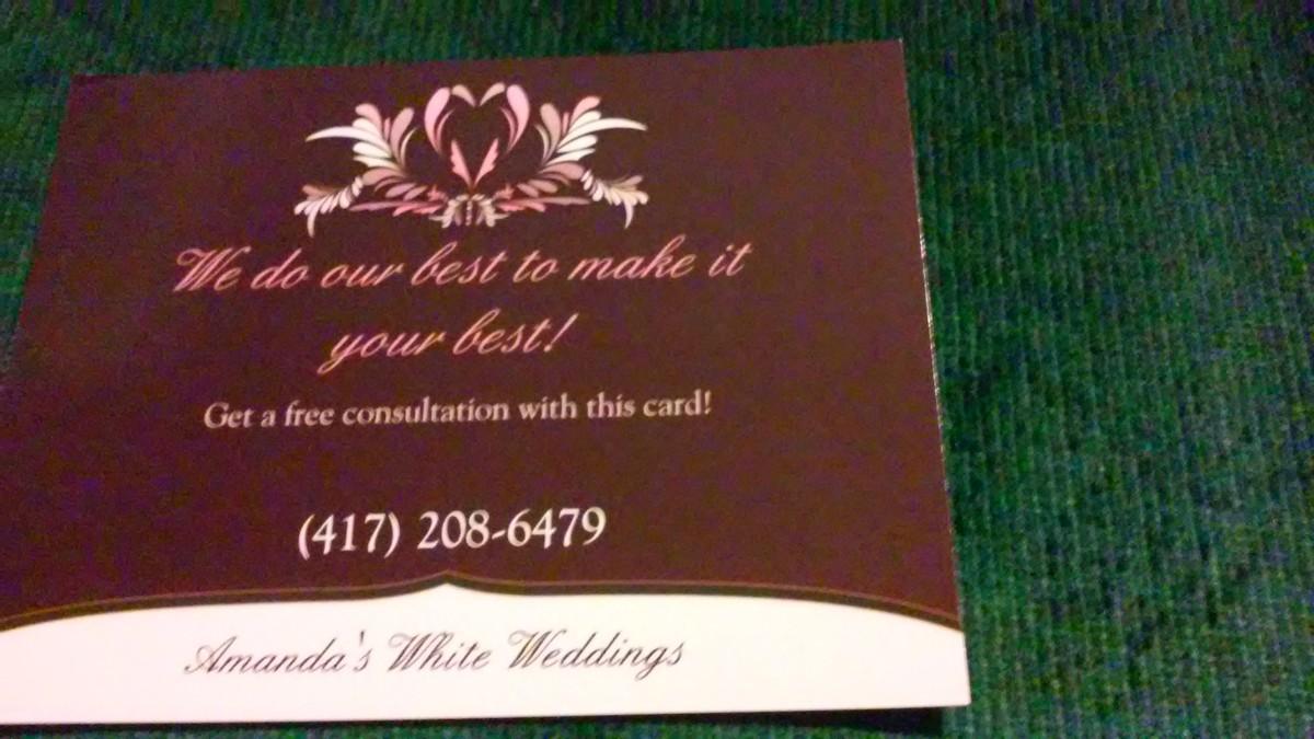 Amanda\'s White Weddings - Planning - Joplin, MO - WeddingWire