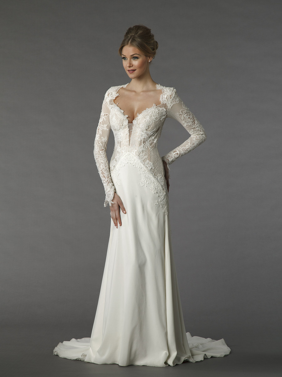 Kleinfeld collection wedding dresses photos by kleinfeld for Kleinfeld wedding dresses with sleeves