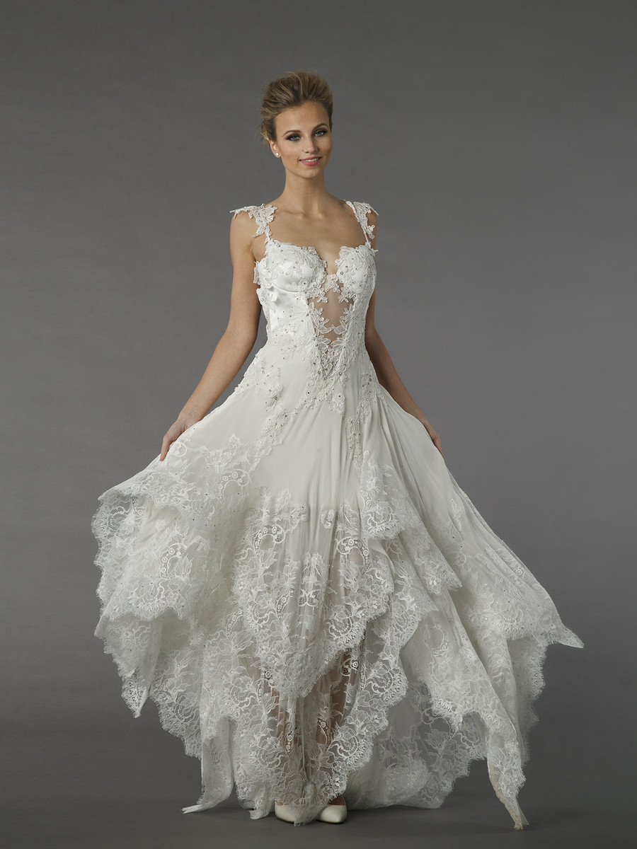 Kleinfeld collection wedding dresses photos by kleinfeld for Wedding dresses for bridesmaid