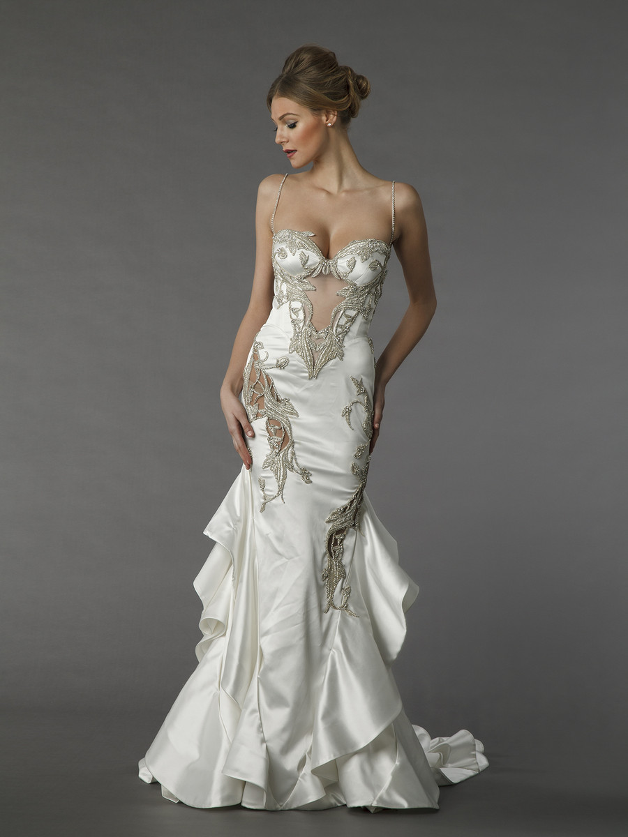 Pnina tornai for kleinfeld wedding dresses photos by for Pnina tornai wedding dresses prices