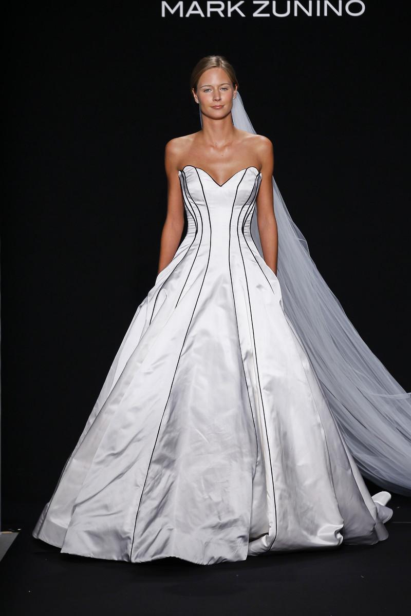 Mark zunino for kleinfeld wedding dresses photos by for Kleinfeld wedding dress designers