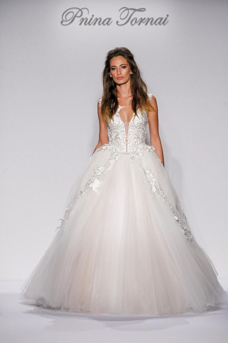 Pnina tornai for kleinfeld wedding dresses photos by for Pnina tornai wedding dresses