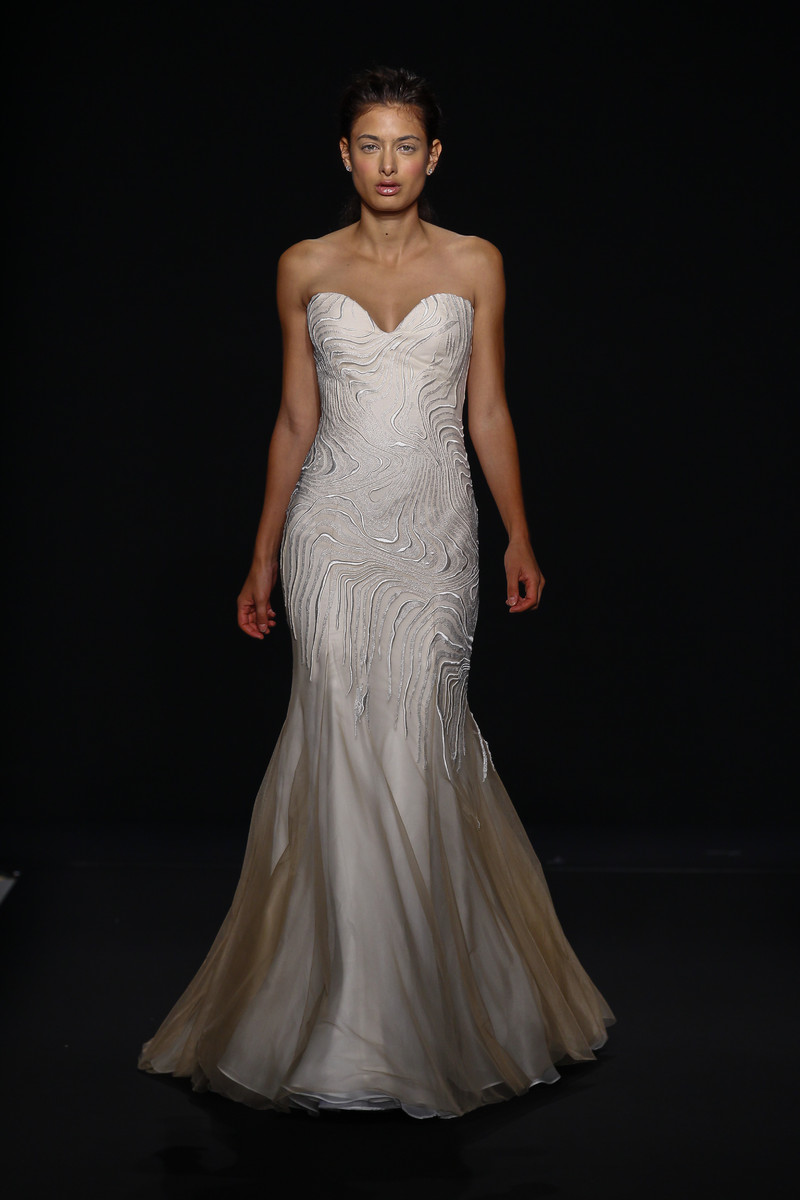 Classic And Romantic Lace And Organza Ball Gown Wedding ...   Kleinfeld Bridal Wedding Dresses