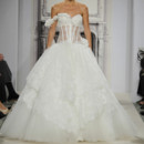 Style 32813537  This ball gown features a sweetheart neckline with a natural waist in lace and tulle. It has a chapel train. This gown is Exclusive to Kleinfeld Bridal.