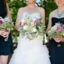 Dress Store:Panache Bridal  Bridesmaid Dresses:Anthropologie  Floral Designer: Pittsford Florist