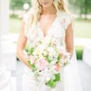Dress Designer: Randall Smith   Hair Stylist: Conrad Heller  Makeup Artist: Katy Medrano  Floral Designer:Le Petit Jardin
