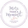 More Than A Moment Event Design & Decor image