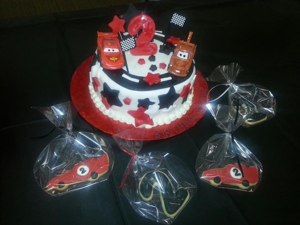 1428367130970 Cars Birthday Cake Tampa wedding cake