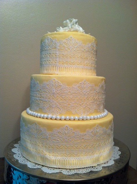 Serenity Cake Designs - Wedding Cake - Columbia, TN ...