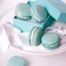 Custom Colored French Macarons for a dessert table and favors.