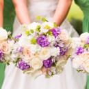 Dress Designer:Paloma BlancafromElegant Touch Bridal & Tuxedo  Bridesmaid Dresses:David's Bridal  Floral Designer:Floral Legacies