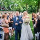 Venue: Big Foot Country Club  Dress Designer: Hayley Paige from Volles Bridal Boutique  Hair and Makeup Artist: Elana Darrus Makeup & Hair  Floral Designer: Frontier Flowers of Fontana  Ceremony Musicians/Band: Big Al Wetzel Band