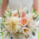 Dress Designer:Hayley PaigefromVolles Bridal Boutique  Floral Designer:Frontier Flowers of Fontana