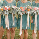 Bridesmaid Dresses: Anthropologie  Floral Designer: Floral and Bloom