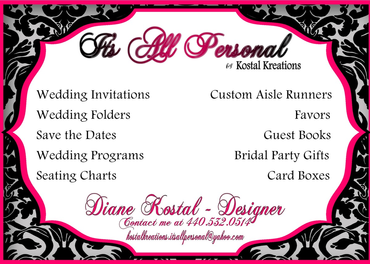 Cleveland wedding invitations reviews for invitations its all personal monicamarmolfo Image collections