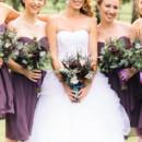 Dress Store:David's Bridal  Bridesmaid Dresses:David's Bridal  Hair and Makeup Artist:About Face Artistry  Floral Designer:Luxe Petals