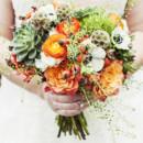 Dress Designer:Vera Wang from David's Bridal  Floral Designer:Southern Stems