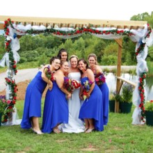 220x220 sq 1422906851360 red white n blue wedding ladies at coppertoppe