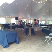 220x220 sq 1422906865473 tent with diagnonal long tables wedding at coppert