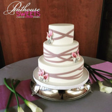 Penthouse Sweets Wedding Cake Alsip Il Weddingwire