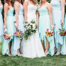 Dress Designer:Allure BridalsfromLa Belle Elaine's  Bridesmaid Dresses: Dido Bridal  Floral Designer:Pike Place Market