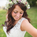 Dress Designer:Allure Bridals  Hair Stylist: Erin Bailey of Volume Salon  Floral Designer:Bill's Enchanted Flowers & Gifts