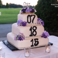 220x220 sq 1471410120432 weddingdatecake1nextdimensionbakery