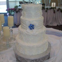 220x220 sq 1421095530030 wedding cake 1