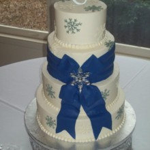 220x220 sq 1421095574609 wedding cake 3