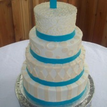 220x220 sq 1421095604766 wedding cake 11