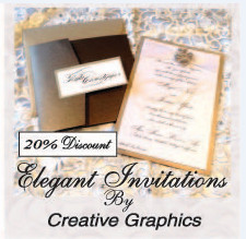 Invitations by Creative Graphics