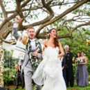 Venue: Moloa'a Shangri-La  Event Planner:Alohana Weddings  Dress Store:Bridals by Lori  Hair and Makeup Artist: Erica Adams  Groom and Groomsmen Attire: Tommy Hilfiger  Officiant: Kenneth Cohen  Floral Designer: Davine Blooms