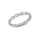 NZ1081B  18K white gold diamond wedding band