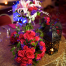 Reception Venue: Greensboro Marriott Downtown  Event Planner: Behind the Scenes, Inc.  Floral Designer: Designs North Florist