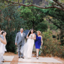 Venue: Sugar Beach  Bride's Gown: Austin Scarlett, fromKleinfeld Bridal  Jewelry:Ti Adoro  Ceremony Music: Steel Brass Band