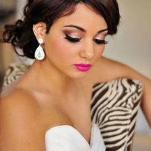 220x220 sq 1513285819 7dcf032b95df8ec5 1509660981571 biracial girl bride makeup