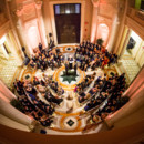 Venue:Carnegie Institution for Science  Event Planner:Ashlee Virginia Events  Officiant: ClarePalace ofCapitol Hill Celebrant  Ceremony Musicians: Olivia Bloom, Jenna Pastuszek, Lexi Goodnight, and Myles Glancy