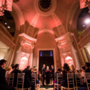 Venue: Carnegie Institution for Science  Event Planner: Ashlee Virginia Events  Officiant: Clare Palace of Capitol Hill Celebrant   Ceremony Musicians: Olivia Bloom, Jenna Pastuszek, Lexi Goodnight, and Myles Glancy