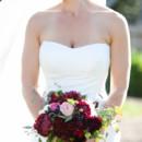 Dress Designer:Betsy Couture  Floral Designer: Jenna Swan