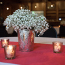 Reception Venue/Caterer: The Century Room at Pack's Tavern  Floral Designer: Blossoms at Biltmore Park  Linens: BBJ Linen