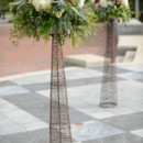 Ceremony Venue: Pack Square Park  Floral Designer: Blossoms at Biltmore Park