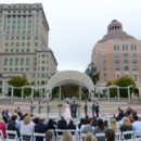Ceremony Venue: Pack Square Park  Officiant: Smoke Kanipe