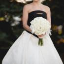 Dress Designer:Vera WangfromRoma Sposa  Floral Designer:Evart Floral Boutique