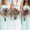 Dress Designer:Allure BridalsfromPreOwnedWeddingDresses.com  Bridesmaid Dresses:Mori LeefromGreta's Bridal  Floral Designer: Creative Floral Designs