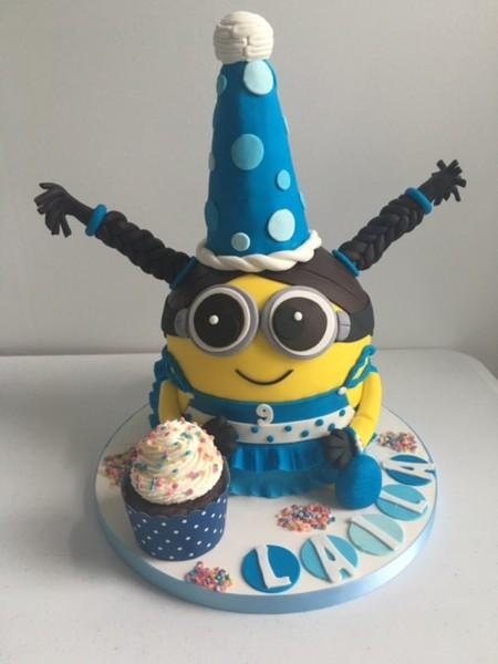 600x600 1464833182311 laila minion cake