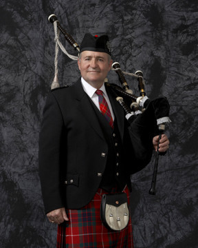 Bagpiping By Van