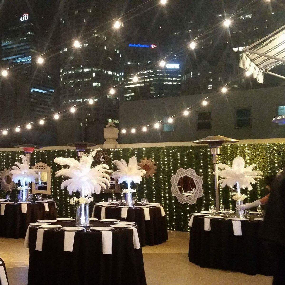 Rent ostrich feather centerpieces wedding amp party centerpiece rentals - Dowler Event Decor Wedding Event Rentals Photobooths California Orange County And Surrounding Areas