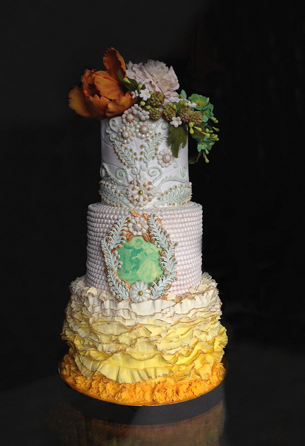 Big Island Wedding Cake - Wedding Cake - Leilani Estates